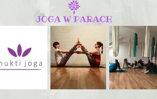 Joga w Parach – II edycja – cykl jesiennych spotkań w MuktiJoga
